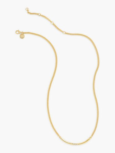 Vermeil-Plated Sterling Necklace