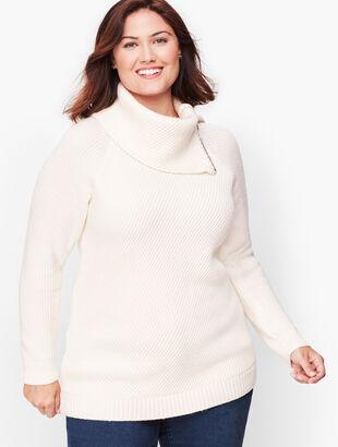 Split Neck Sweater