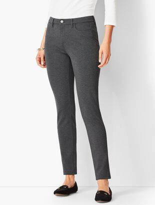 Five-Pocket Ponte Jeggings