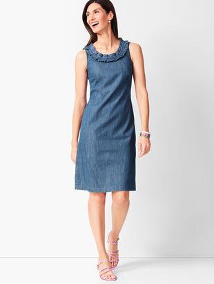 Denim Shift Dress e46e20381