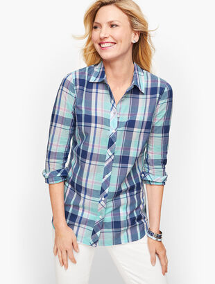 Classic Cotton Shirt - Picnic Plaid