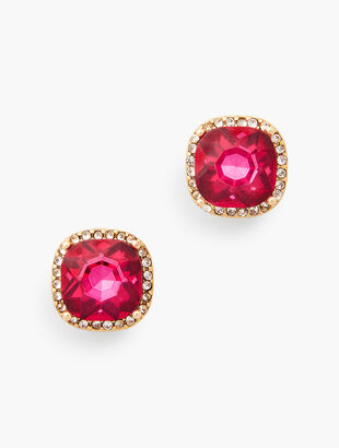 Pavé Stud Earrings