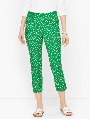 Talbots Chatham Crop Pants - Ditsy Floral