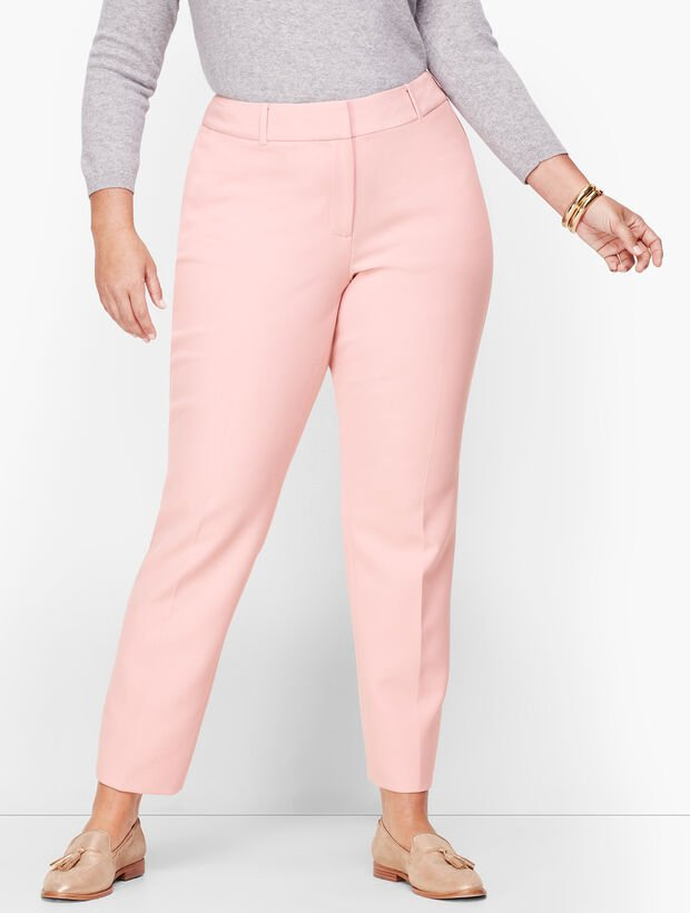 Plus Size Talbots Hampshire Ankle Pants - Solid