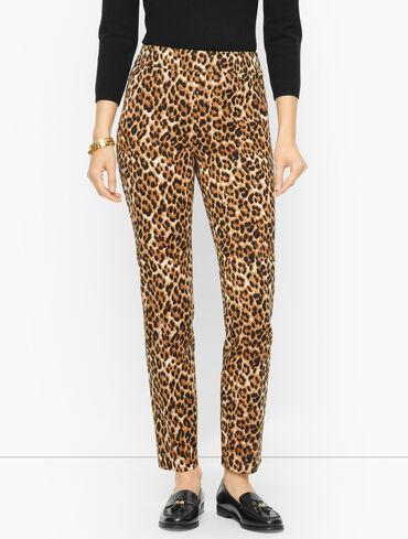 Talbots Chatham Ankle Pants - Fun Leopard