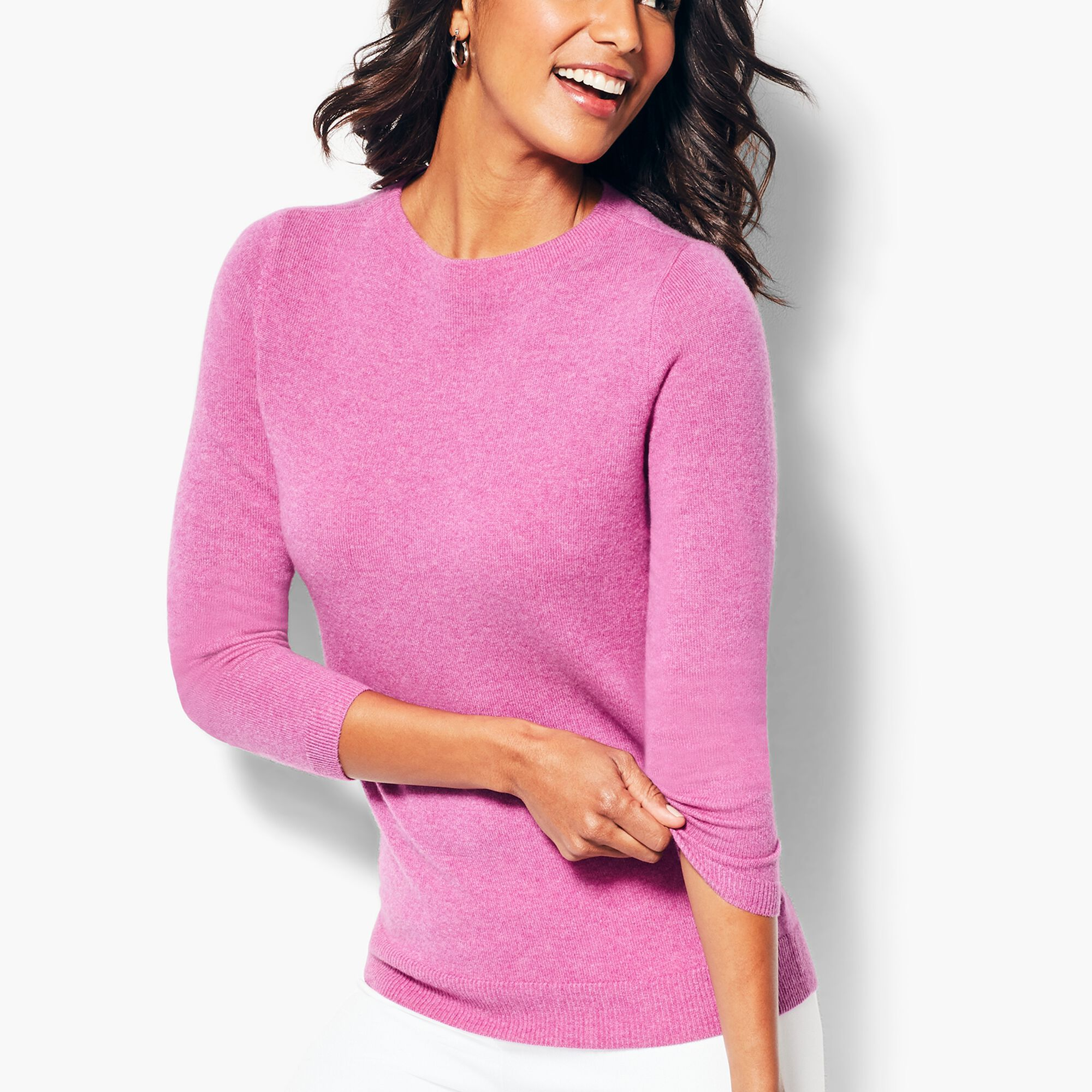ac4f36ae305 Audrey Cashmere Sweater - Solid Opens a New Window.
