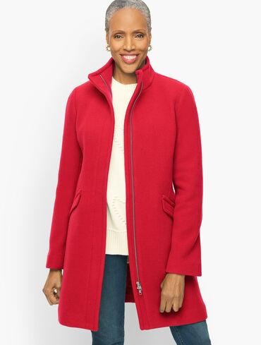 Albury Wool Blend Coat
