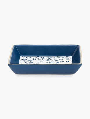 Floral Jewelry Tray