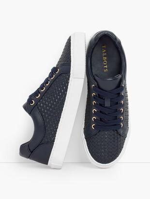 Modern Basketweave Sneaker