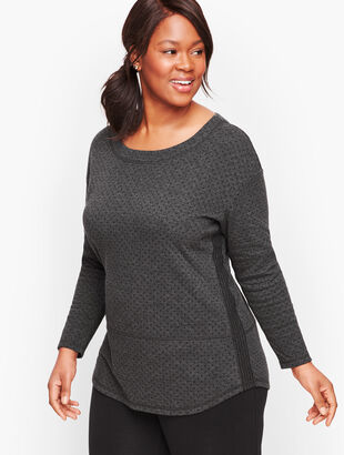 Double Knit Dot Top