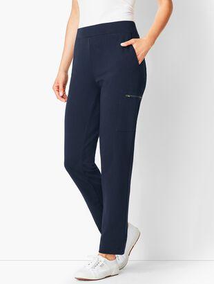 Straight-Leg Cargo Pants