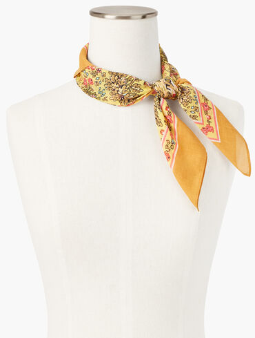 Countryside Square Scarf
