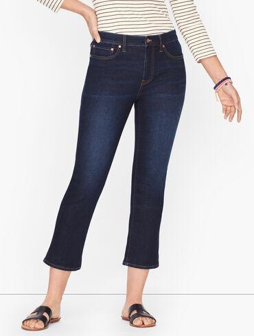 Crop Flare Jeans - Regatta Wash