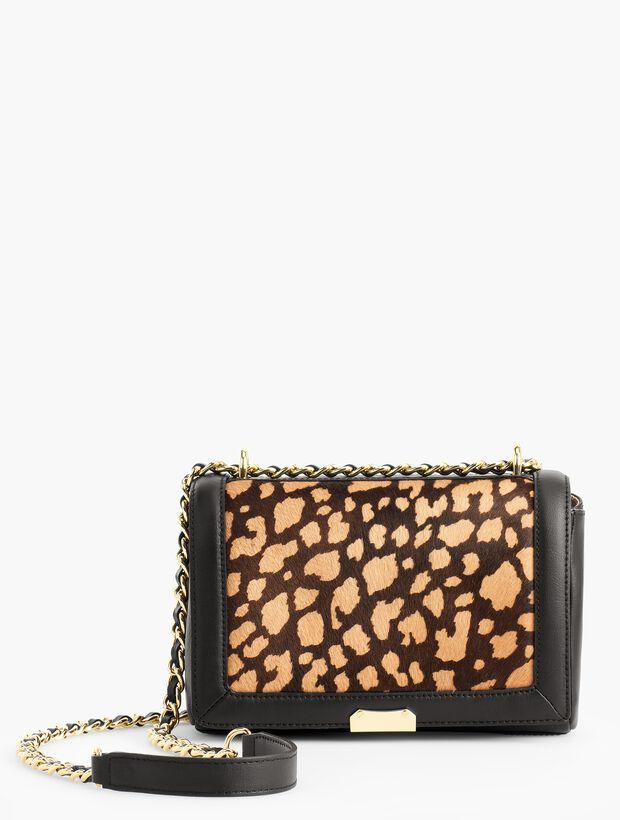 Haircalf Medium Shoulder Bag with Chain Strap