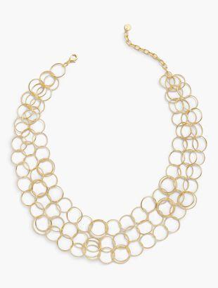 Interlocking Rings Necklace