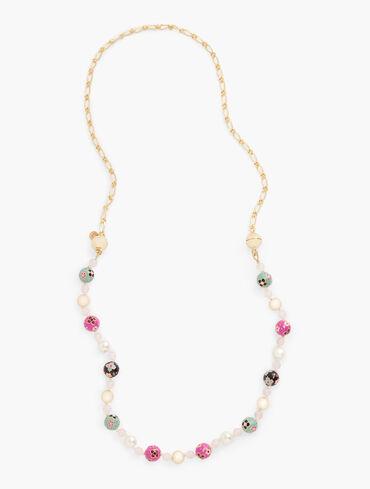 Cloisonné Long Necklace
