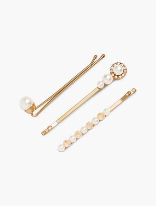 Pearl Hairpins-3-pk