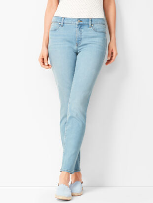 Slim Ankle Jeans - Solar Wash