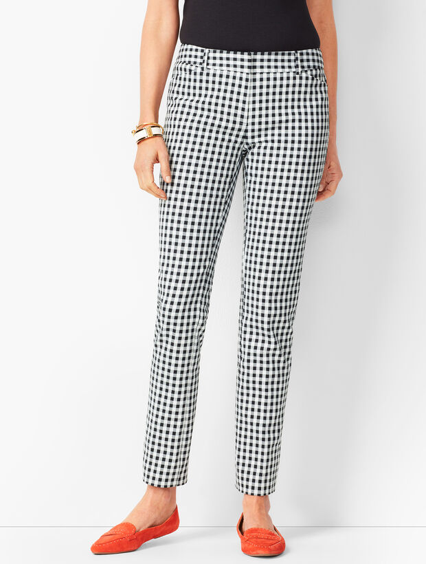Talbots Hampshire Ankle Pants - Gingham