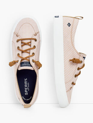 Sperry® Crest Vibe Sneakers - Mini Check