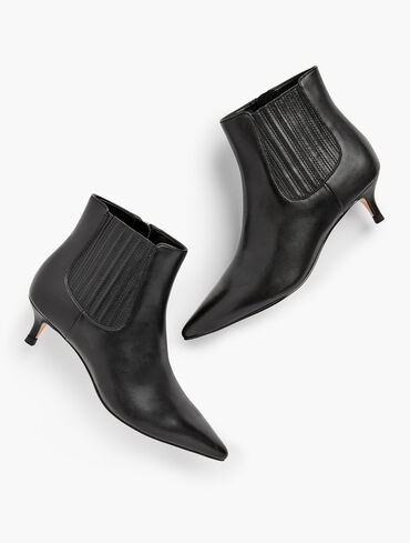 Iona Vachetta Leather Ankle Boots