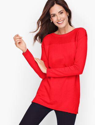 Contrast Stitch Sweater