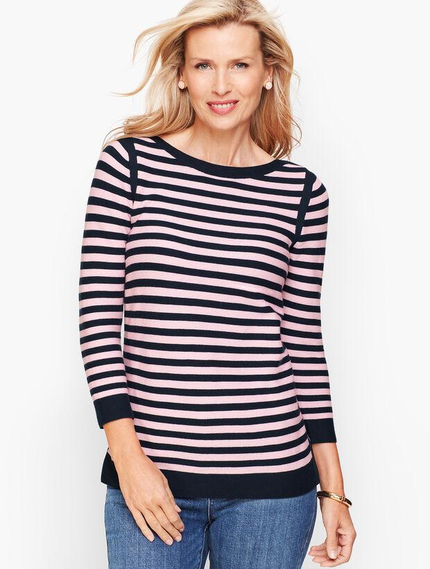 Link Stitch Sweater - Stripe