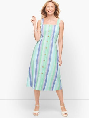 Beachcomber Stripe Midi Dress