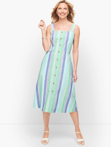 Beachcomber Stripe Midi Dress