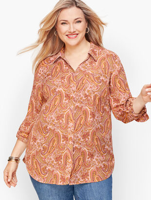 Soft Shirt - Paisley