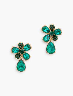 Evergreen Statement Earrings