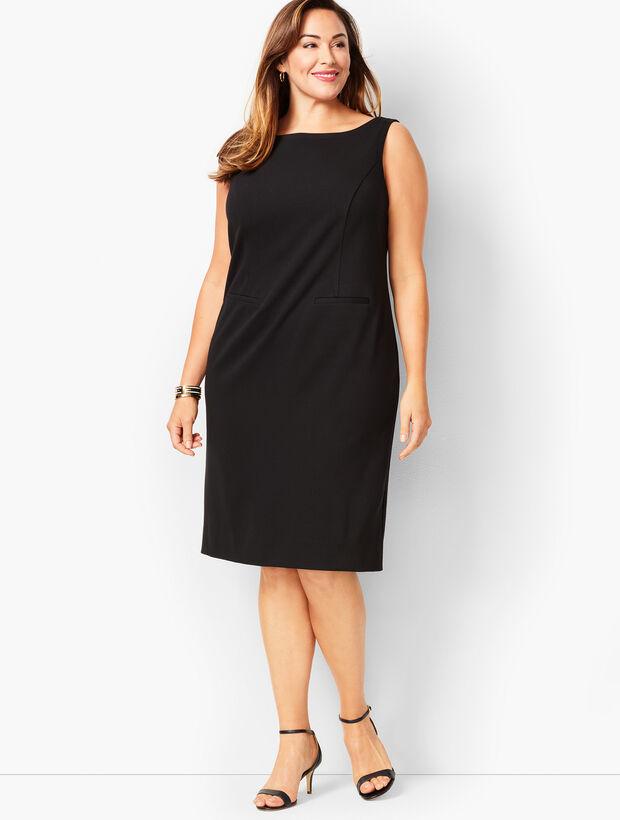 5d8cef18259c8 Images. Italian Luxe Knit Sheath Dress