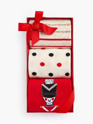 Whimsy 3-Pack Socks