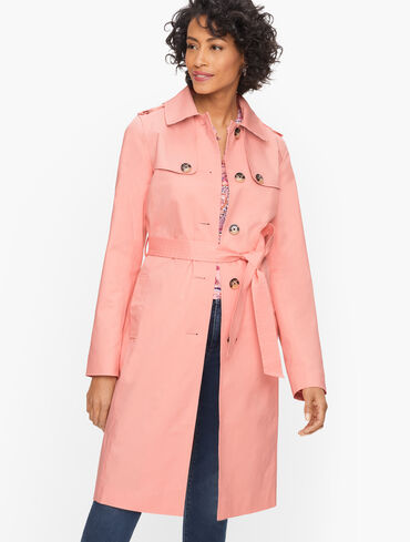 Polished Trench Coat