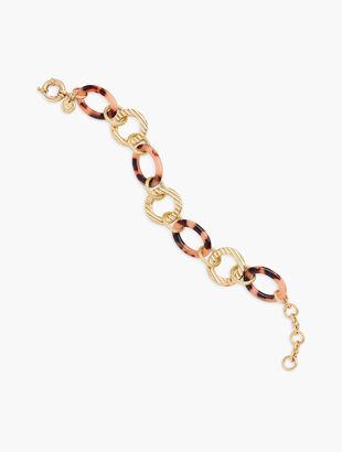 Blush Tortoise Links Bracelet