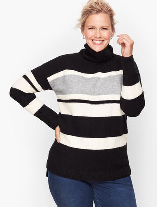 Fireside Stripe Turtleneck Sweater