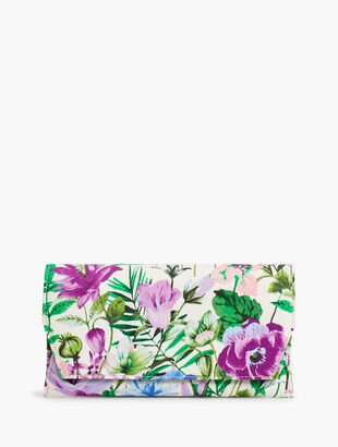 Floral Envelope Bag