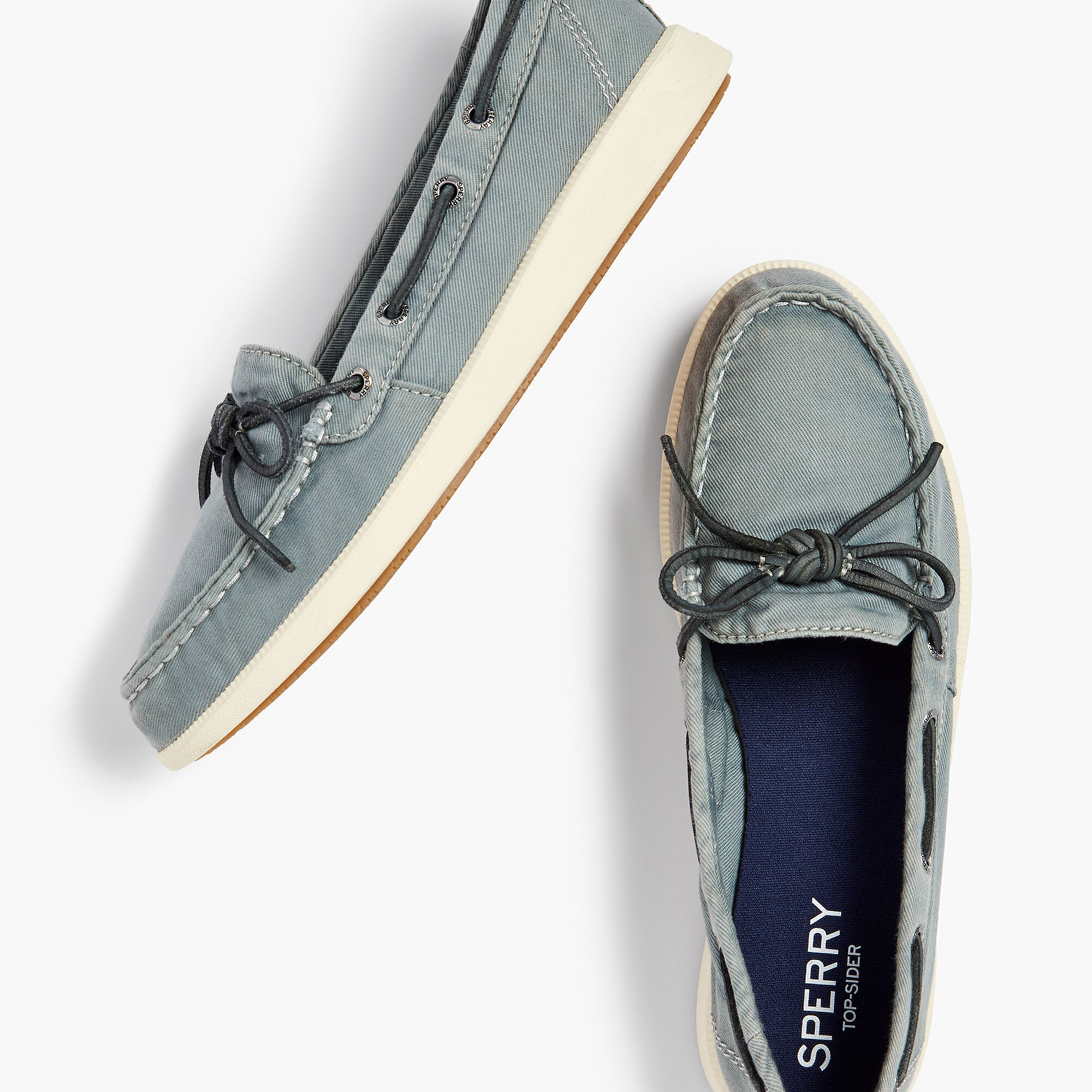 Sperry(R) Canvas Boat Shoes | Talbots