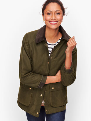 Barbour® Lightweight Acorn Wax Jacket