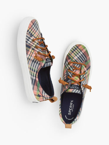Sperry® Crest Vibe Sneaker - Plaid