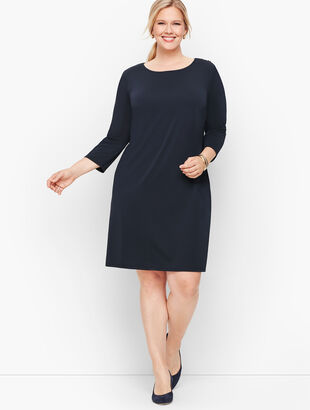 Knit Jersey Shift Dress