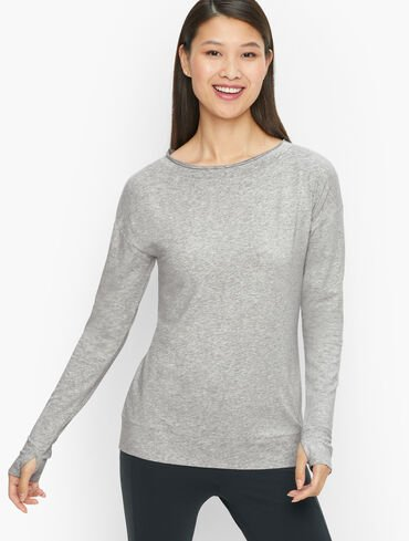 Easy Luxe Bateau Neck Tee