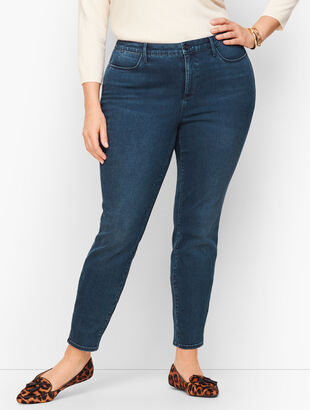 Jeggings - Ocean Blue Wash - Curvy Fit