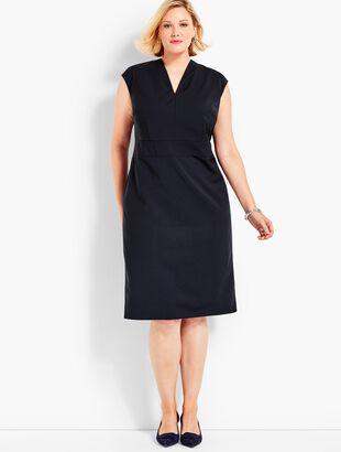 Seasonless Wool Sheath Dress