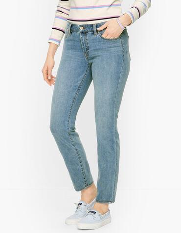 Slim Ankle Jeans - Mist Wash