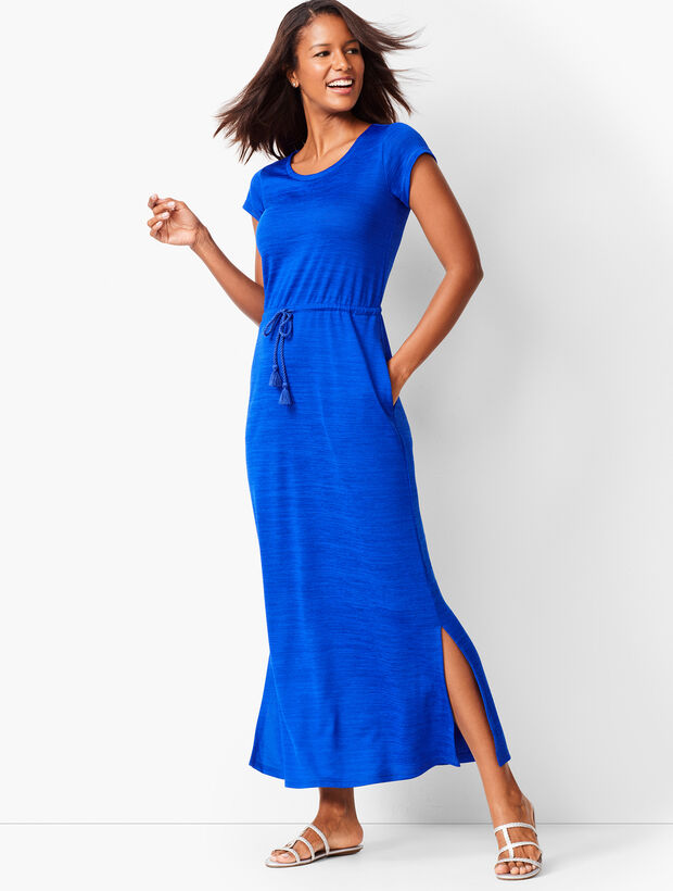 Soft Drape Jersey Maxi Dress