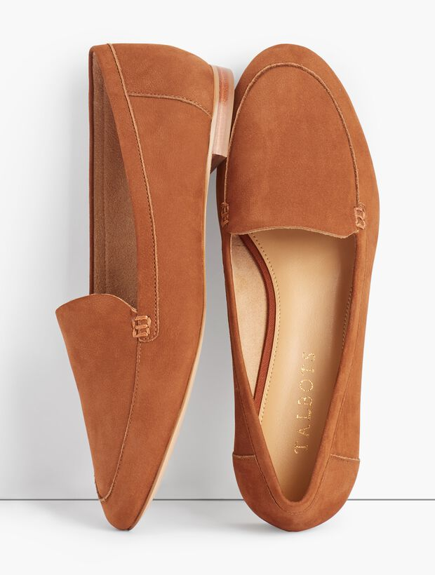 Ryan Pebbled-Leather Loafers