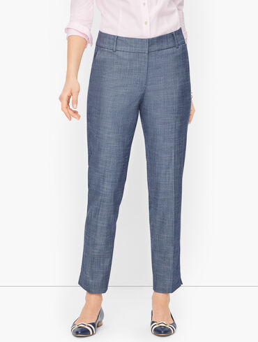 Talbots Hampshire Ankle Pants - Textured Kerri