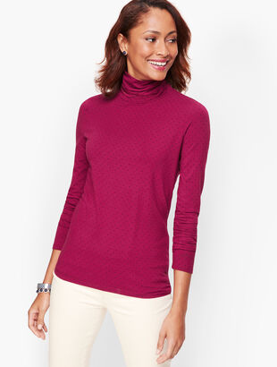 Long Sleeve Turtleneck - Dot