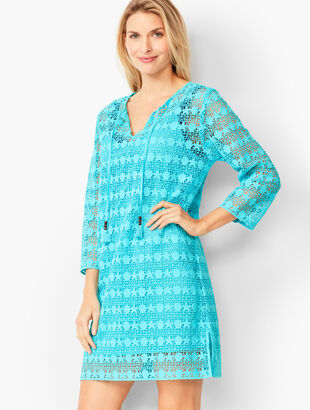 Cotton Crochet Beach Tunic